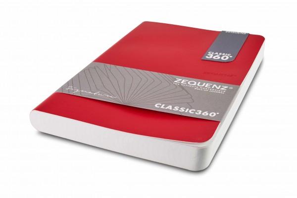 Zequenz Signature Notizbuch 360 Rot A5