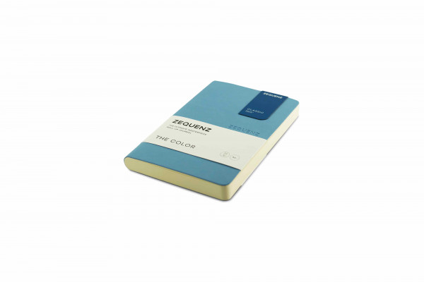 Zequenz The Color Notizbuch A6- Hellblau
