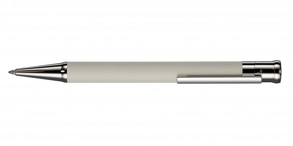 Otto Hutt Entwurf 04 Karo Creme Weiß Kugelschreiber