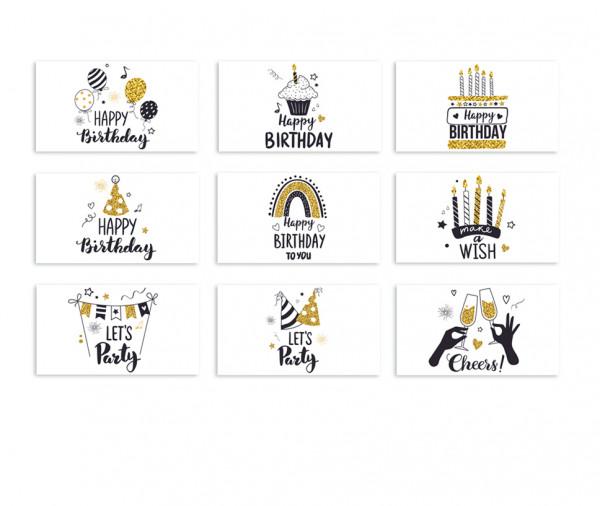 eGeschenk-Karte Geburtstag Motive