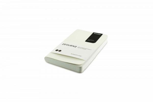 Zequenz Signature Classic 360 Notizbuch A6- Weiß