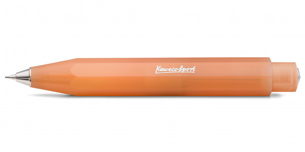 Kaweco FROSTED Sport push pencil 0,7 mm Soft Mandarine