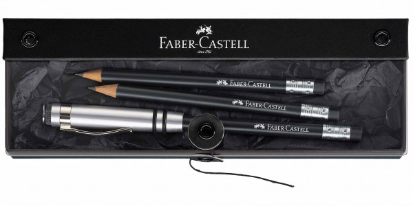 Faber-Castell Perfect pencil DESIGN black gift set