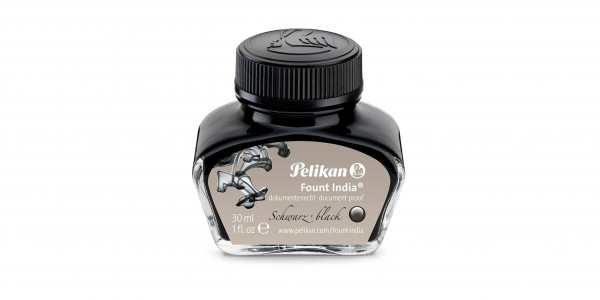 Pelikan permanent ink 30 ml Fount India black