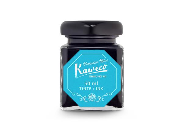 Kaweco Tintenglas Paradise Blau 50 ml