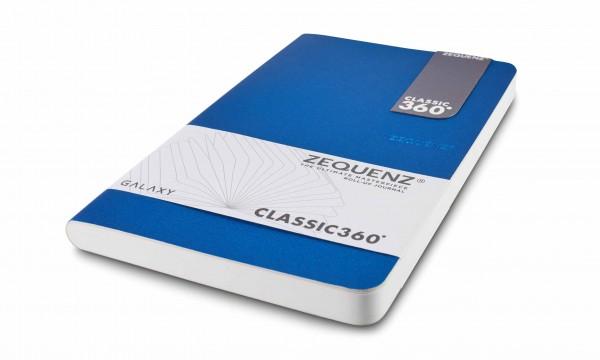 Zequenz Galaxy Notizbuch 360 Blau A5