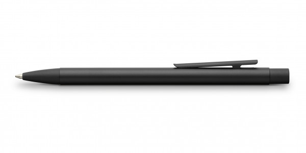 Faber-Castell Neo Slim Metall Kugelschreiber Schwarz