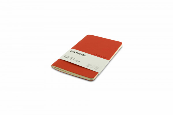 Zequenz The Color notebook Professional Note Grenadier Orange