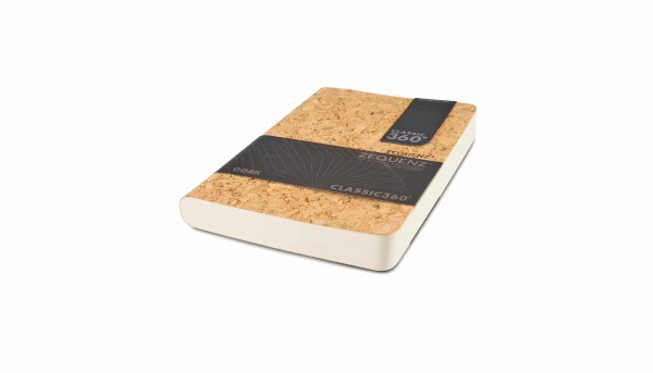 Zequenz Cork Classic Notizbuch A6 Wildstyle natural A  10.5x14 cm