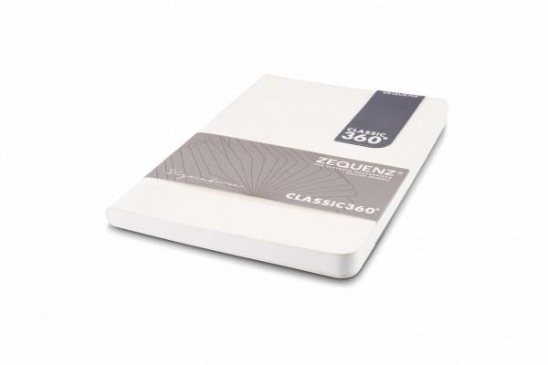 Zequenz Signature Notizbuch 360 Weiß B6 Lite