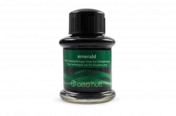 Otto Hutt Tintenglas 30 ml emerald Grün