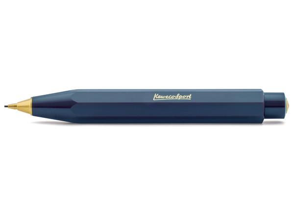 Kaweco CLASSIC Sport push pencil 0.7mm navy