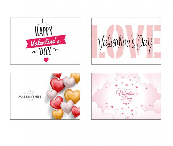 Valentinstag Motive