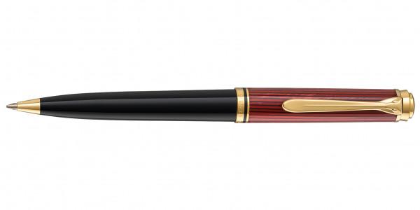 Pelikan Souverän 600 Kugelschreiber Schwarz Rot