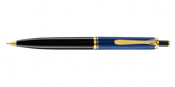Pelikan Souverän 400 push pencil black blue