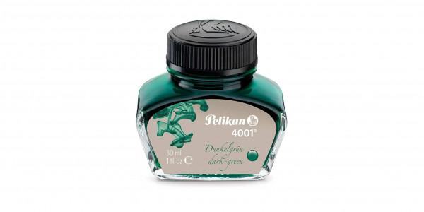 Pelikan ink glass 30 ml dark green
