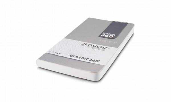 Zequenz Galaxy Notizbuch 360 Silber B6- 10x17.8 cm