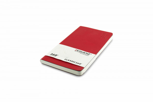 Zequenz Everyday Kalender B6 Schmal Rot