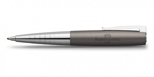 Faber-Castell Loom Metallic Drehkugelschreiber Grau