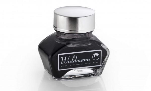 Waldmann Tintenglas 30 ml Schwarz