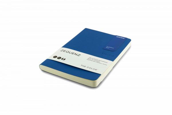 Zequenz The Color Notizbuch B6 Königsblau