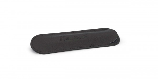 Kaweco long ECO leather pouch for 1 pen black