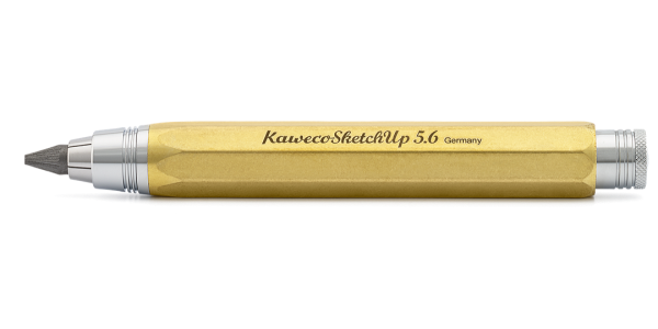 Kaweco SKETCH UP Fallbleistift Messing Roh 5,6 mm