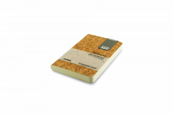 Zequenz Cork Lite notebook A6- Wildstyle natural A