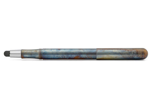Kaweco Liliput Stylus Fireblue mit Spitze Silber