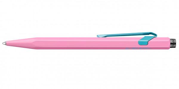 Caran d'Ache 849 Claim Your Style Kugelschreiber Hibiskus-Rosa mit Etui