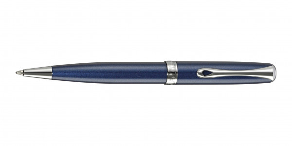 Diplomat Excellence A2 Kugelschreiber Midnight Blue Chrom
