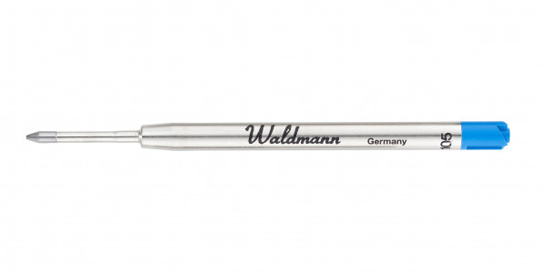 Waldmann Kugelschreiber Mine Blau