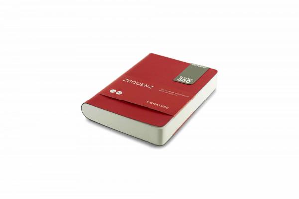Zequenz Signature Classic 360 Notizbuch A6 Rot