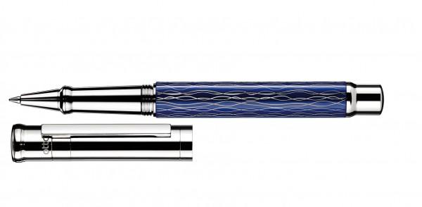 Otto Hutt Entwurf 04 Rollerball Welle Blau