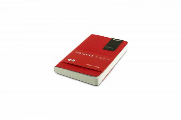 Zequenz Signature Classic 360 Notizbuch A6- Rot