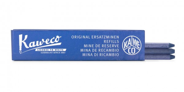 Kaweco pencil leads all-purpose 5.6 mm blue