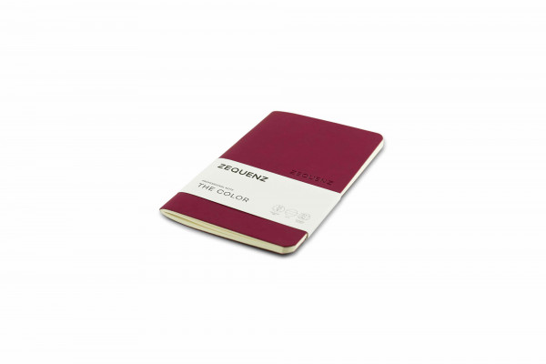 Zequenz The Color Notizbuch Professional Note Beeren Bordeaux