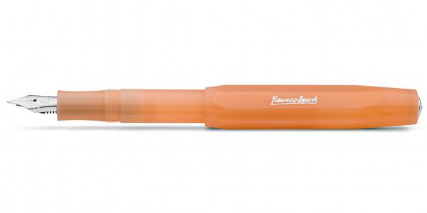 Kaweco FROSTED Sport fountain pen Soft Mandarine