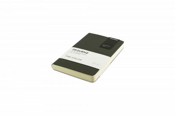 Zequenz The Color Notizbuch A6- Sturmgrau