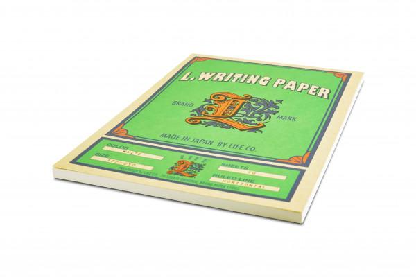 Life L. Marken Schreibpapier Block B5 Weiß Liniert