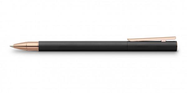 Faber-Castell Neo Slim Metall Tintenroller Schwarz Rosegold