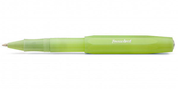 Kaweco FROSTED Sport rollerball Fine Lime