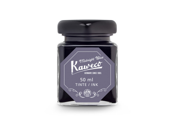 Kaweco Tintenglas Mitternachtsblau 50 ml