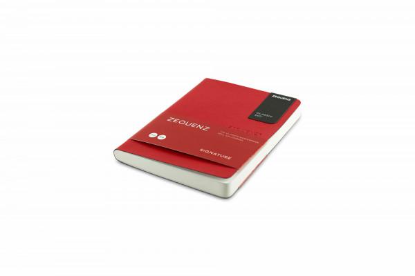 Zequenz Signature Lite 360 Notizbuch A6 Rot