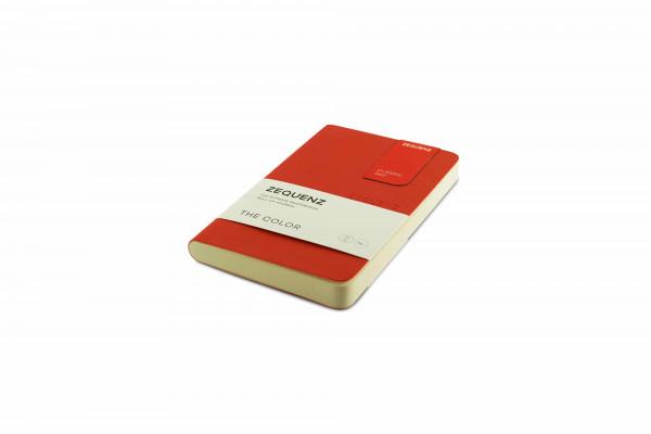Zequenz The Color Notizbuch A6- Grenadier Orange
