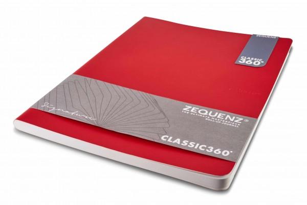 Zequenz Signature Notizbuch 360 Rot B5 Lite