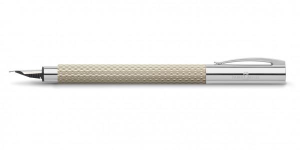 Faber-Castell Ambition OpArt Füllfederhalter White Sand