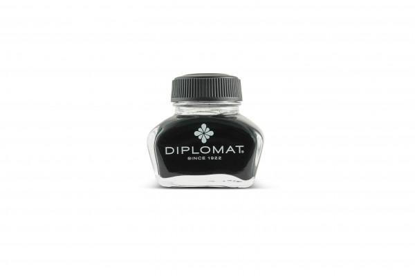 Diplomat Tintenglas Schwarz 30 ml