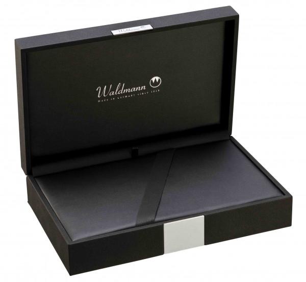 Waldmann leatherette pouch big black