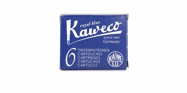 Kaweco Tintenpatronen Königs Blau löschbar